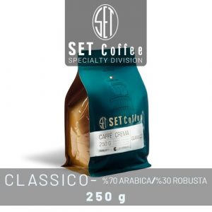 دانه قهوه Caffè crema - CLASSICO (کلاسیک - A70 R30)