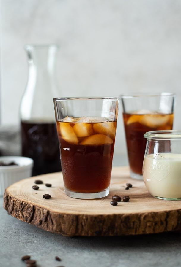 چگونه قهوه Cold Go را سرو کنیم؟
